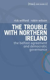 The Trouble with Northern Ireland - CAIN - University of Ulster