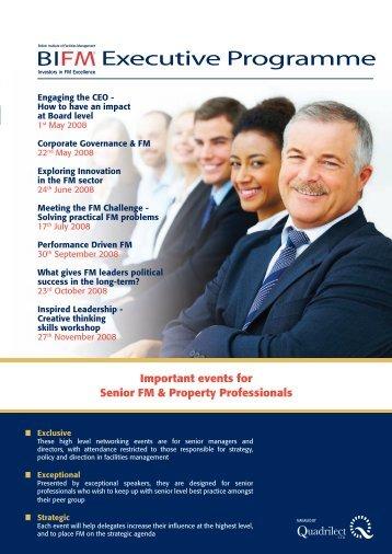 Corporate Governance and FM - IPFMA