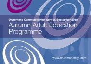 Autumn Adult Education Programme - Broughton Spurtle