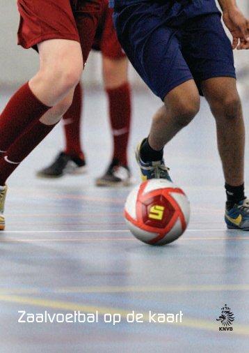 Zaalvoetbal op de kaart - Sport Knowhow XL