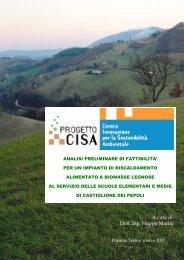 FATTIBILITA' Scuole Castiglione Media elementare - Centro CISA