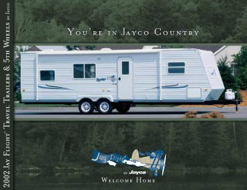 2002 AY FLIGHT TRAvEL TRAILERS & 5TH W HEELS - Jayco