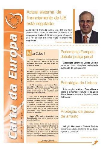 Janeiro/Março - Carlos Coelho