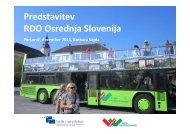 Predstavitev RDO Osrednja Slovenija