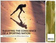 Canadian Centre for Ethics in Sport - BB&Co Strategic Storytelling