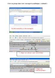 webmail - Mission TICE