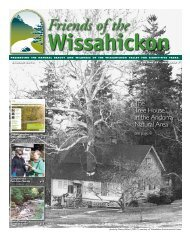 Spring 2012 Newsletter - Friends of the Wissahickon