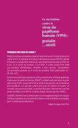 VPH - Réseau québécois d'action pour la santé des femmes