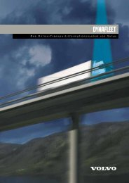 Transportinformationssystem Dynafleet - Haas Nutzfahrzeuge