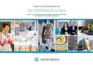 TKI-STRATEGIA 2013 – 2016 - Lahden ammattikorkeakoulu