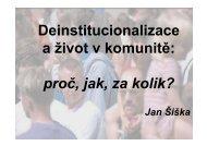 situace v ČR a dobrá praxe z ČR a ze zahraničí