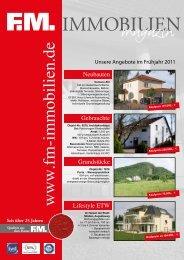 Baugrundstücke Leuthenstraße (Mi) - FM Immobilien