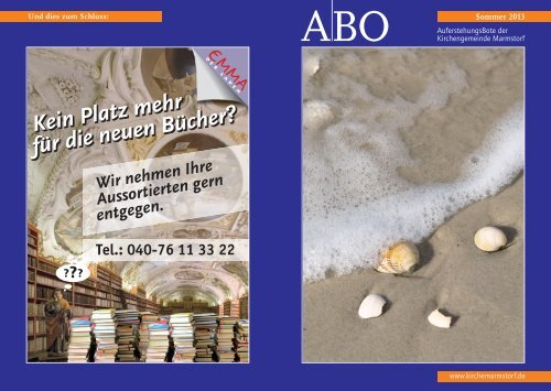Sommer 2013 - Kirchemarmstorf.de