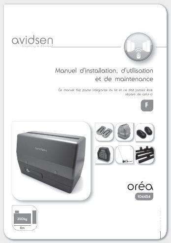 kit motorisation Advidsen 104454 - SolairePratique.com