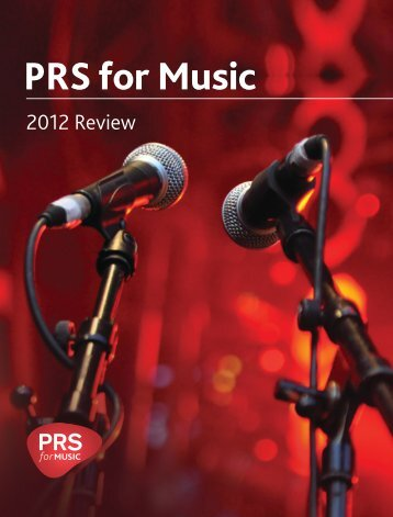 2012 PRS for Music financial review (PDF)