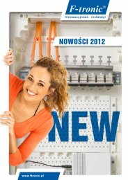 F-tronic Nowosci 2012 (PL)
