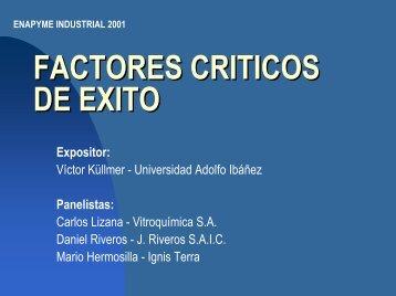 Los Factores Críticos de Exito - Asimet