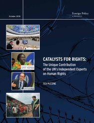 CATALYSTS FOR RIGHTS: - Brookings Institution