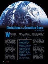 Christians and Creation Care (Torch Magazine) - Cedarville University
