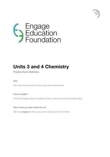 Chemistry – Unit 8 Worksheet 4