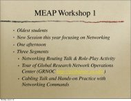 Teaching Materials: Networking and Computing Concepts Slides