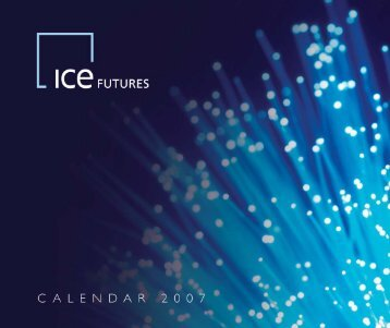 Ice Calendar 2007 artwork