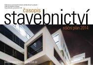 ediční plán 2013 - Časopis stavebnictví