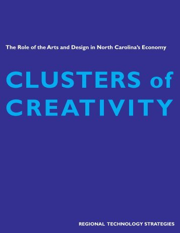 Clusters of Creativity - North Carolina Arts Council