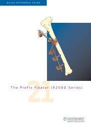 The PreFix Fixator (92000 Series) - Osteosyntese