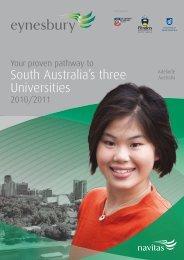 South Australia's three Universities - Navitas