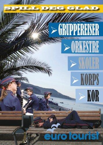 Gruppereiser Orkestre Skoler Korps