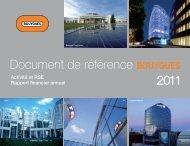 Document de référence BOUYGUES - Paper Audit & Conseil
