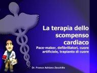 La terapia dello scompenso cardiaco Pace-maker, defibrillatori ...