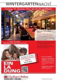 EIN LA DUNG - Glashaus Rehm