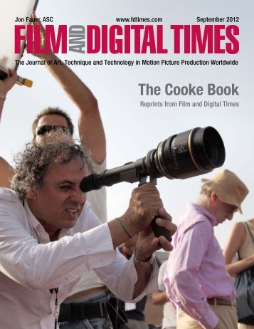 The Cooke Book - Cooke Optics