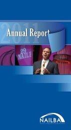 2011Annual Report - Nailba