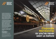 Corporate Membership as you've never seen us before - National ...