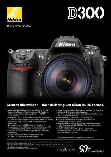 Grenzen überwinden – Höchstleistung von Nikon im DX-Format.