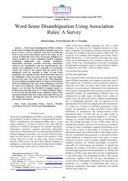 Word Sense Disambiguation Using Association Rules: A Survey