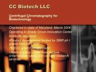 CC Biotech LLC - FLC Mid-Atlantic Region