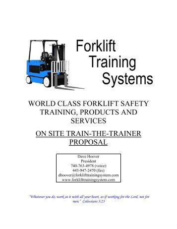 On Site Training On Site Training Bostwick Braun