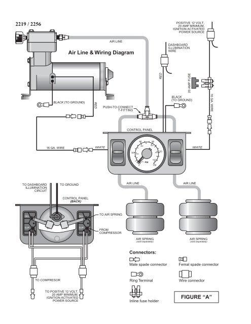 Dual Air Compressor Wiring Diagram