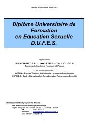 Année Universitaire 2003/2004 - Formation médicale continue