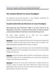 Der einzelne Mensch im neuen Paradigma PDF 60 ... - Erde und Geist