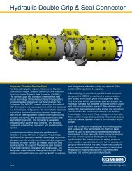 Hydraulic Double Grip & Seal Connector - Oceaneering