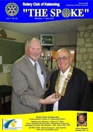 Vol 7-03-July 11 - Katanning Rotary Club