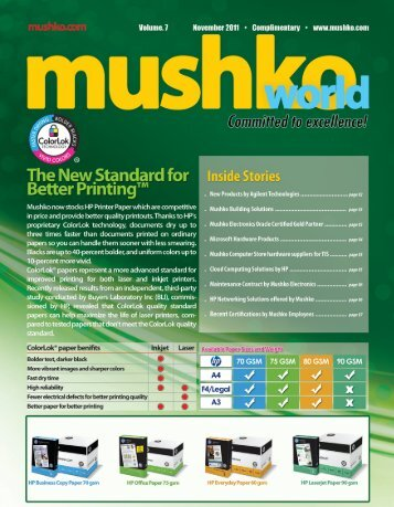sh - Mushko Electronics (Pvt.)