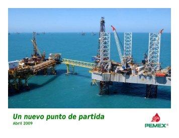 Un nuevo punto de partida - Relación con inversionistas - Pemex