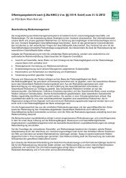 Offenlegungsbericht PSD Bank Rhein-Ruhr eG 2012