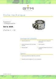 Fiche technique Serie MKA - GTM GmbH